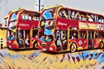 candy-art-buses